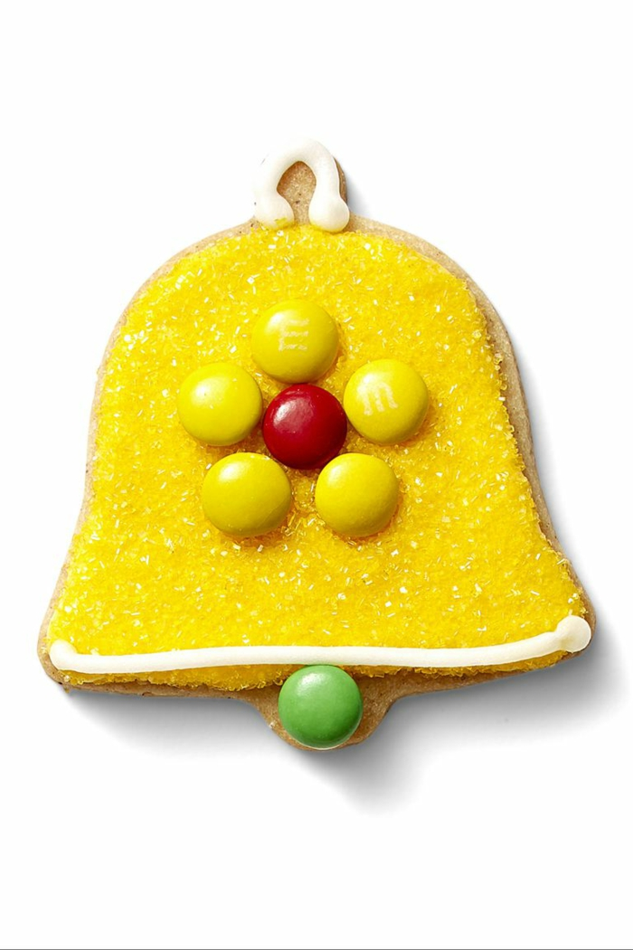 idée glaçage biscuit noël cloche