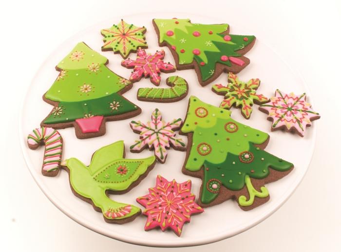 idée glaçage biscuit noël décoration
