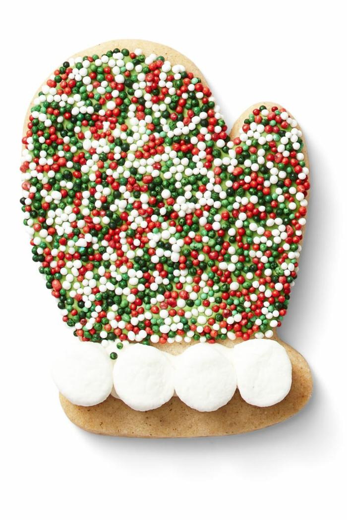 idée glaçage biscuit noël gant