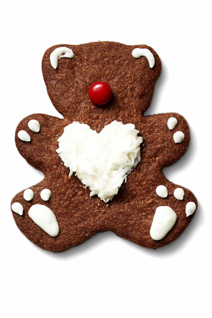 idée glaçage biscuit noël ours