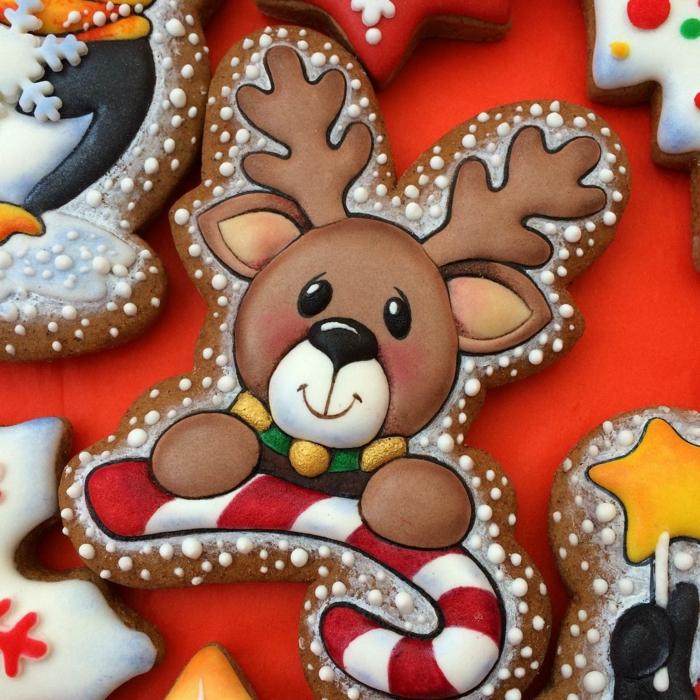 idée glaçage biscuit noël renne