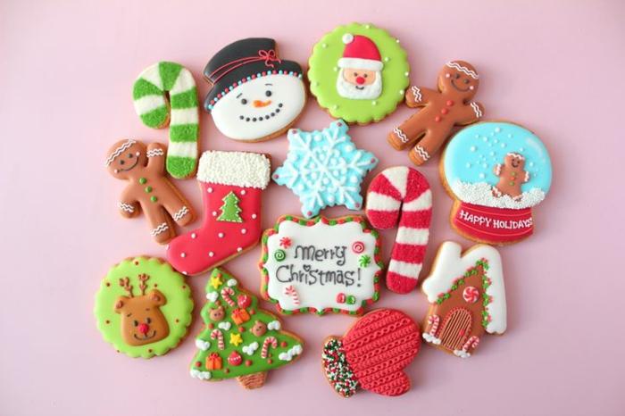 idée glaçage biscuit noël thématique diy