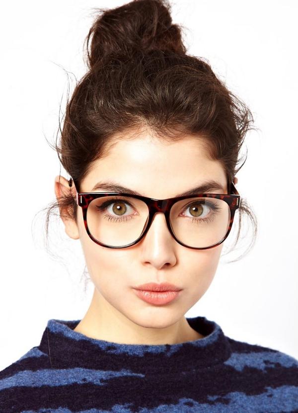 lunettes rhabillées de forme carrée