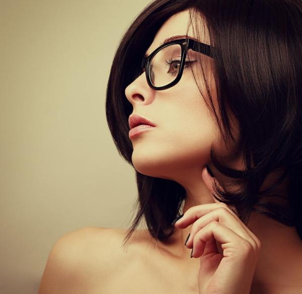 lunettes rhabillées lignes subtiles