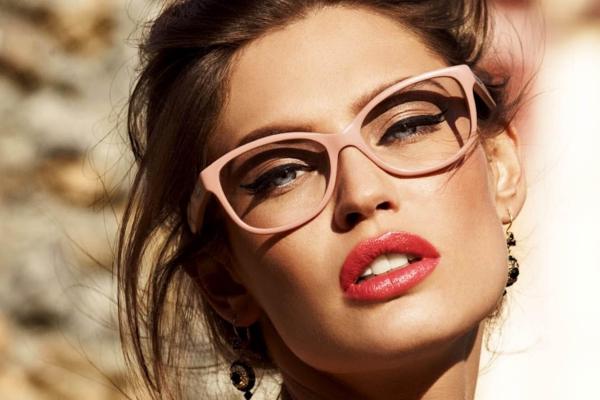 lunettes rhabillées montures roses