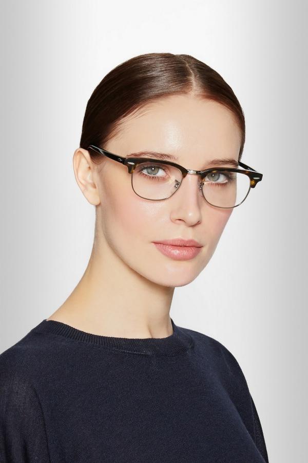 lunettes rhabillées visage allongé