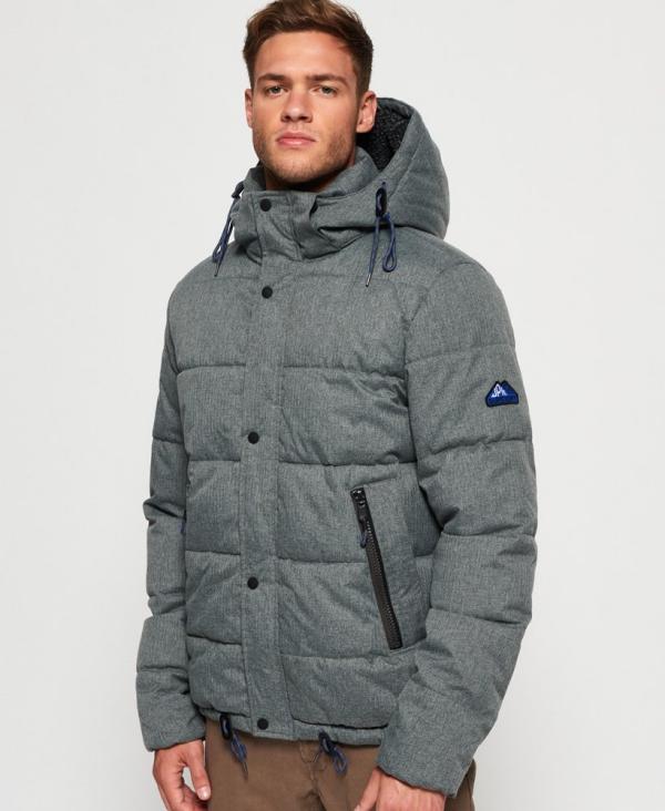 manteau d'hiver homme cordons élastiques