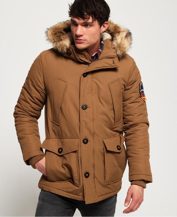 manteau d'hiver homme la couleur beige