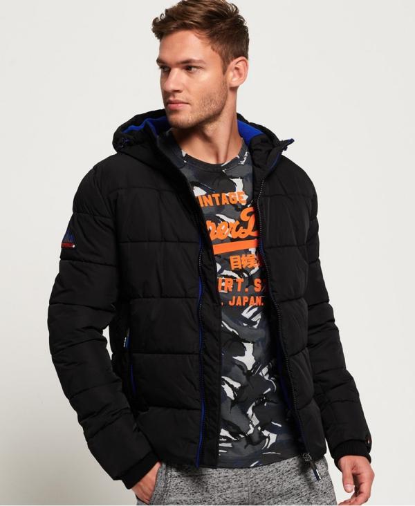 manteau d'hiver homme remplie de duvet