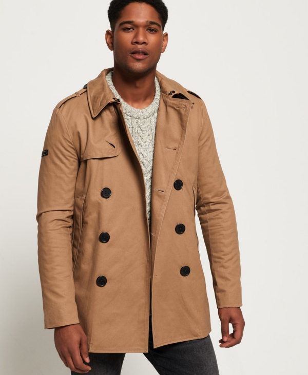 manteau d'hiver homme sans capuche