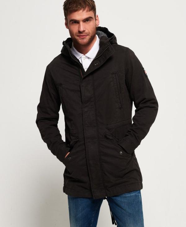 manteau d'hiver homme type militaire