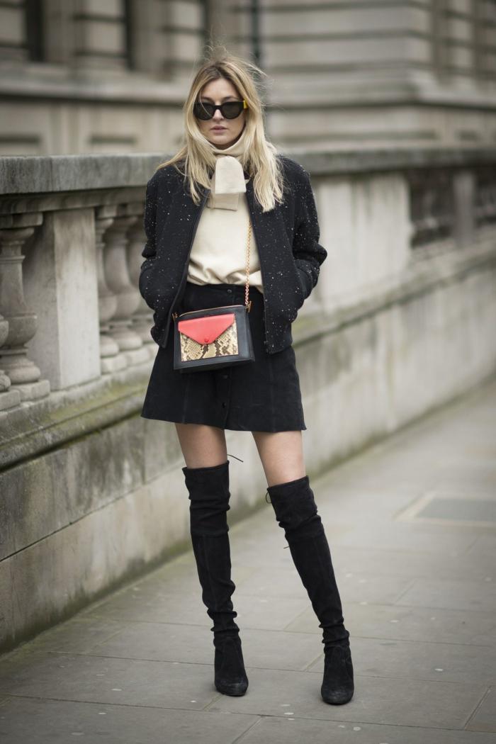 mode femme idée comment porter des cuissardes