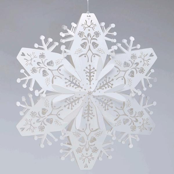 origami Noël flocon technique compliquée