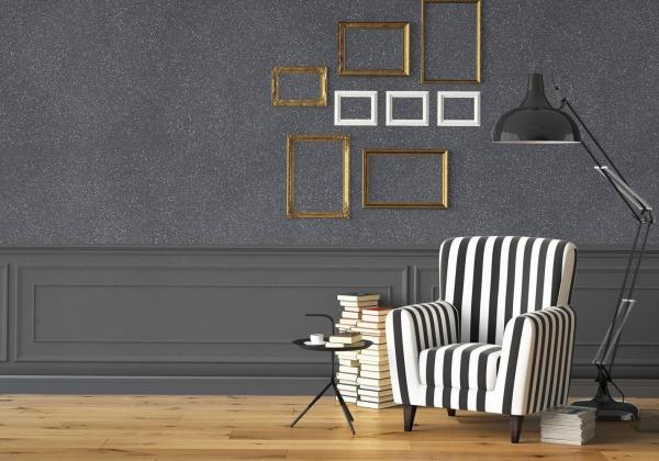 peinture pailletée élégante peinture chambre
