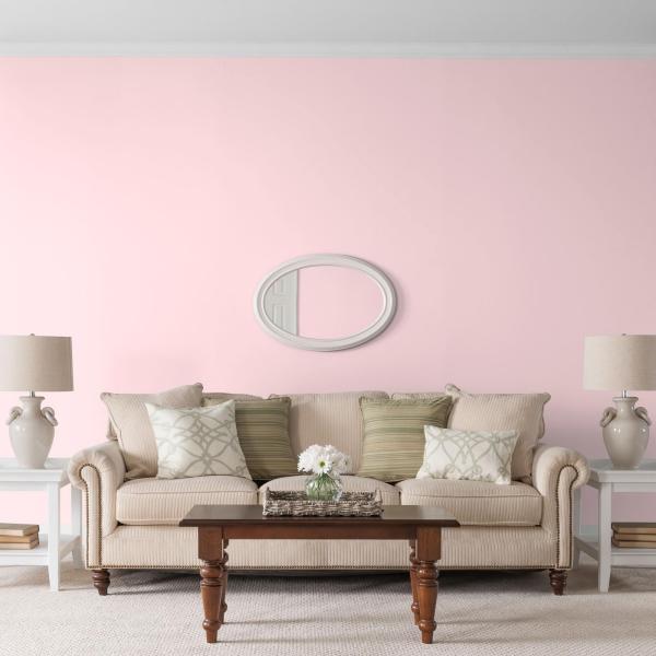 peinture rose poudré bel ensemble de meubles