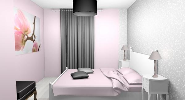 peinture rose poudré meubles neufs