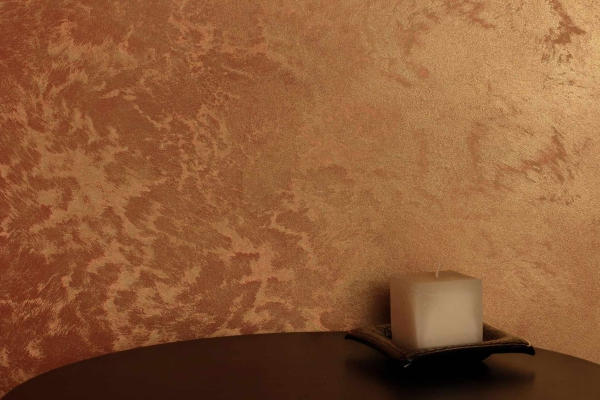 peinture sablée en beige brillant