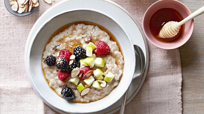 petit-déjeuner idée recette porridge