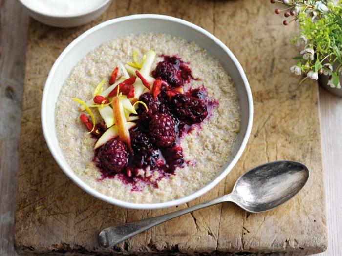 petit-déjeuner sain recette porridge