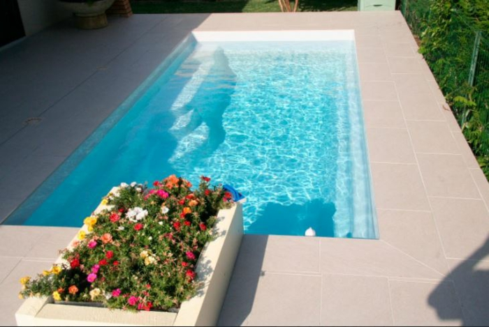 piscine coque rectangulaire Mini piscines MdP Smart