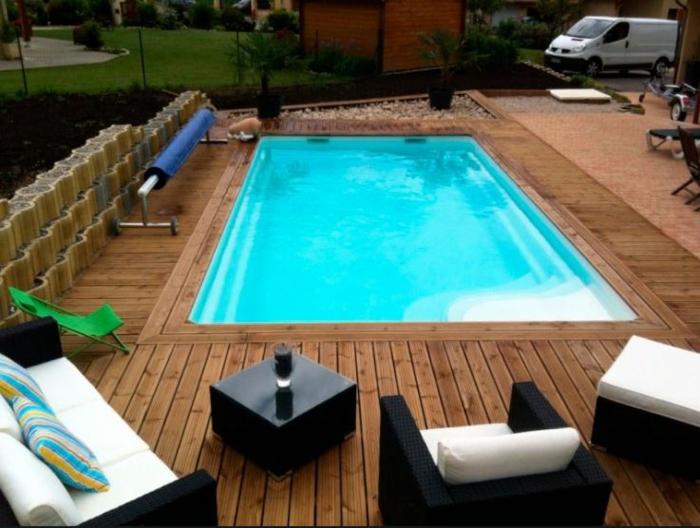 piscine coque rectangulaire Mon de Pra Piscines Coque MdP Unique