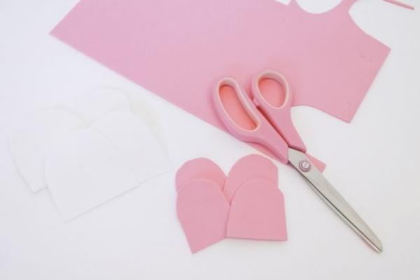 pochette cadeau licorne les oreilles roses