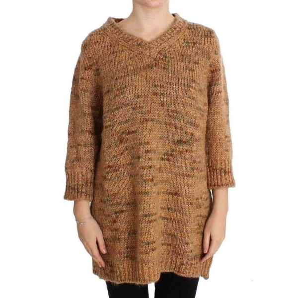 pull oversize manches plus courtes