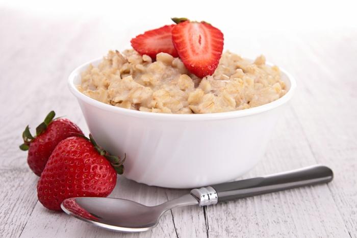recette porridge aux fraises