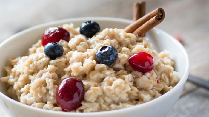 recette porridge aux fruits rouges