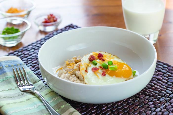 recette porridge version salée