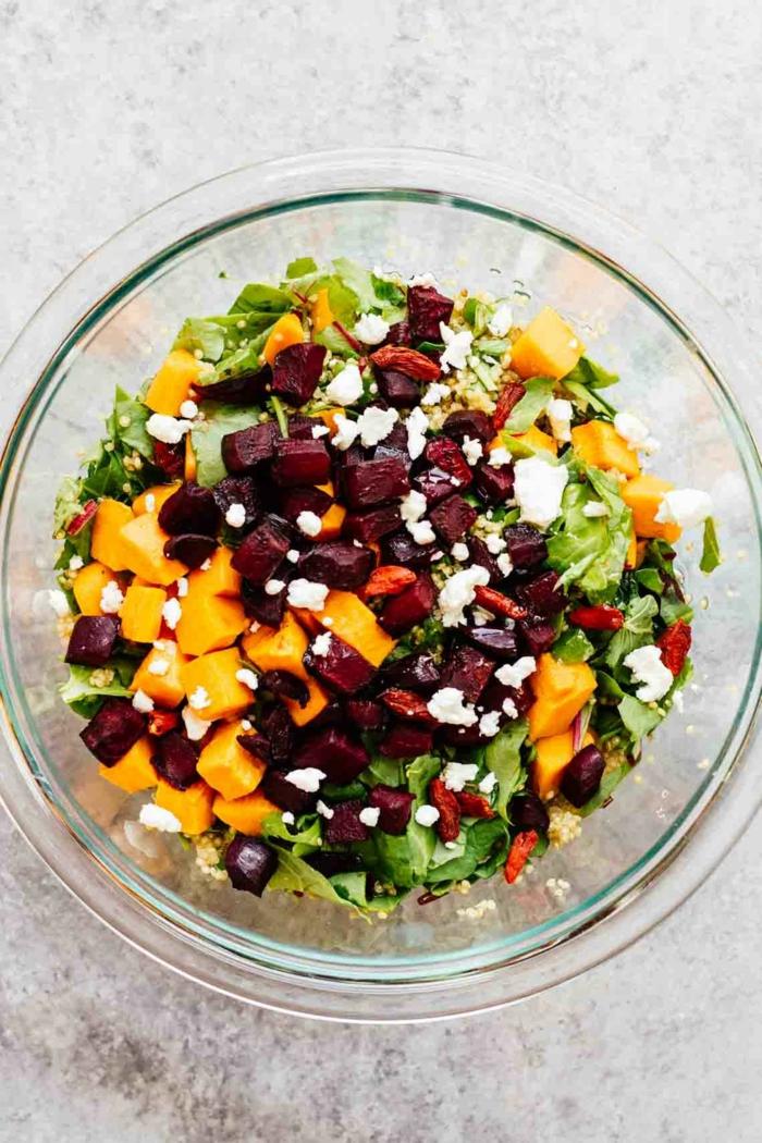 recette salade avec baie de goji