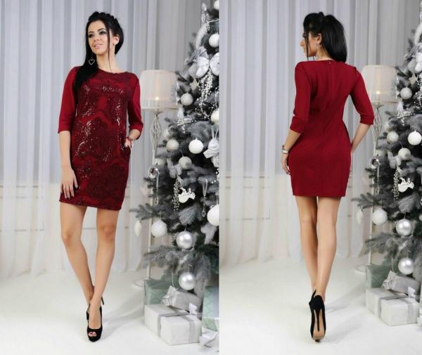 robe Nouvel An couleur ardoise