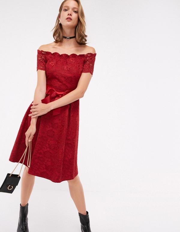 robe Nouvel An couleur rouge