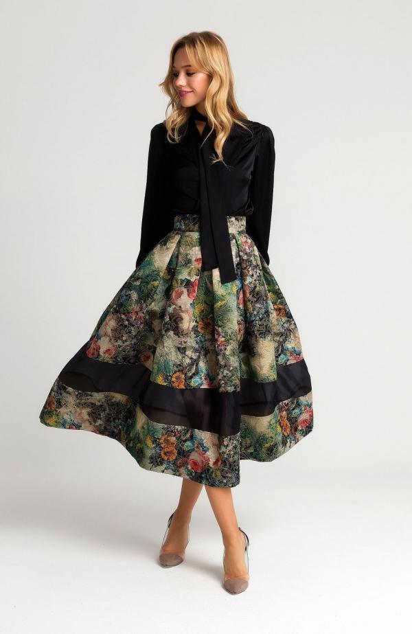 robe Nouvel An jupe légère