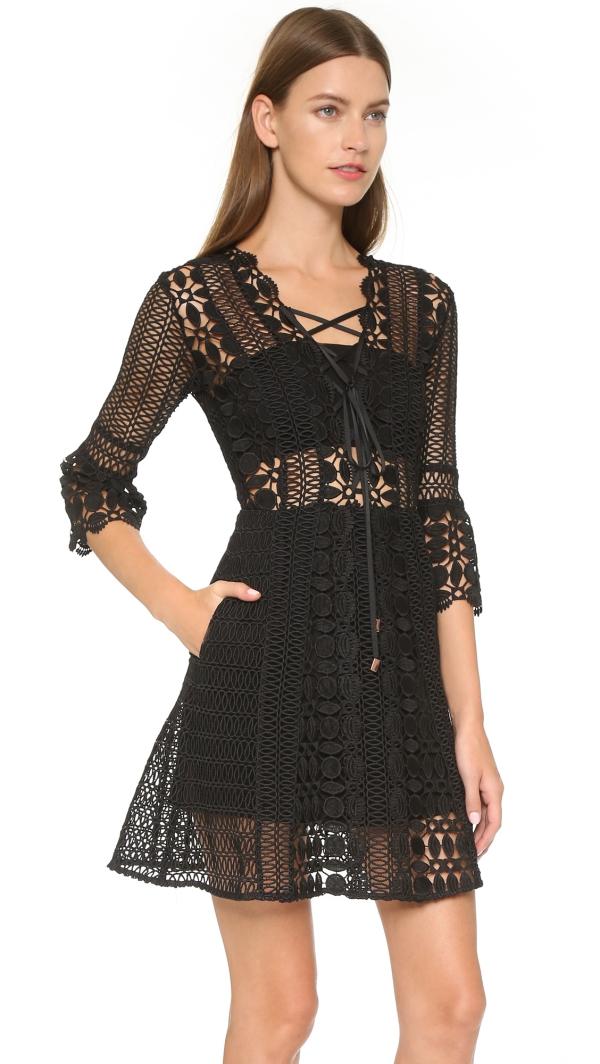 robe Nouvel An robe noire