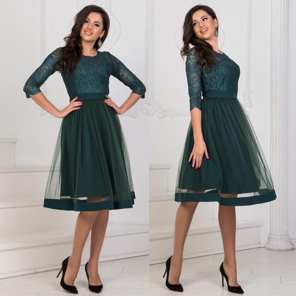 robe Nouvel An vert foncé