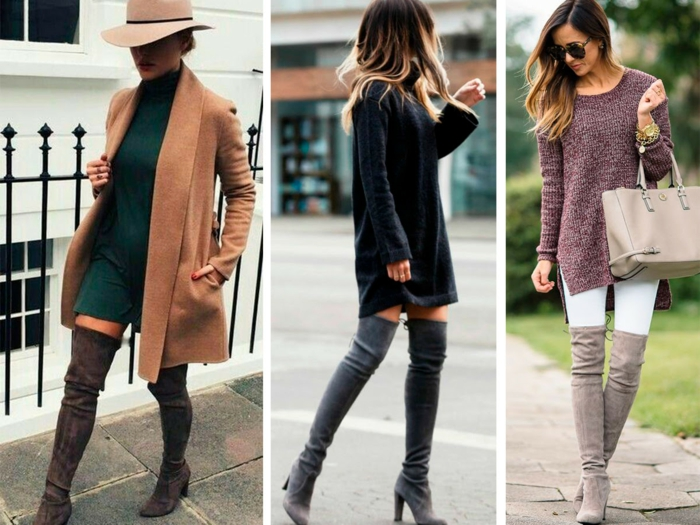 robe pull comment porter des cuissardes