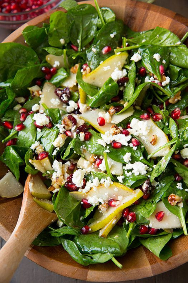 salade d' hiver anti-oxydant