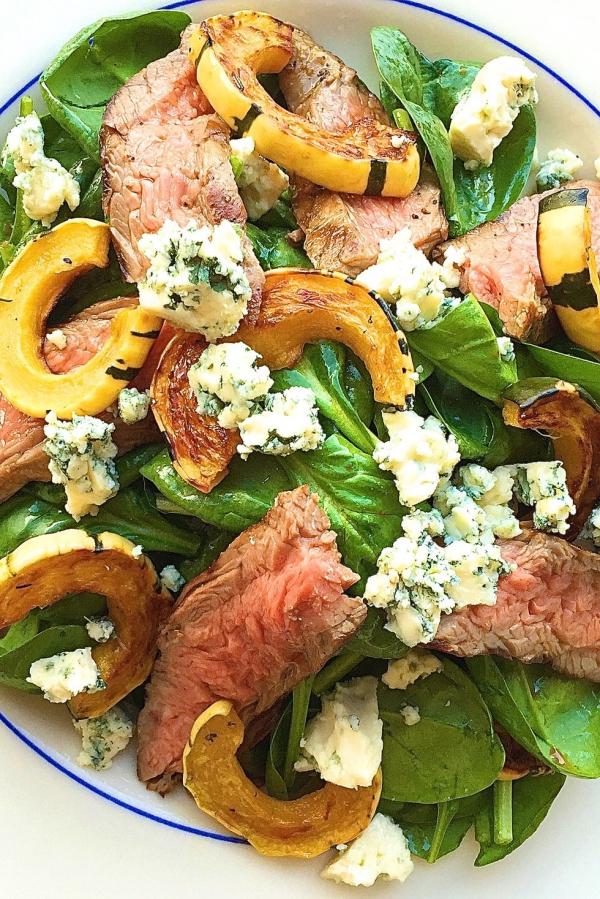 salade d' hiver aux épinards