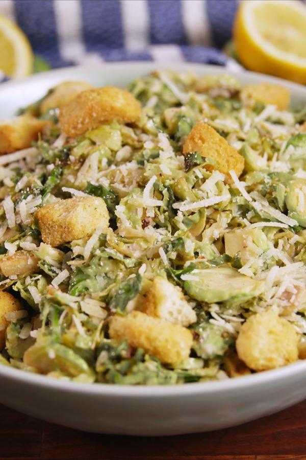 salade d' hiver salade César