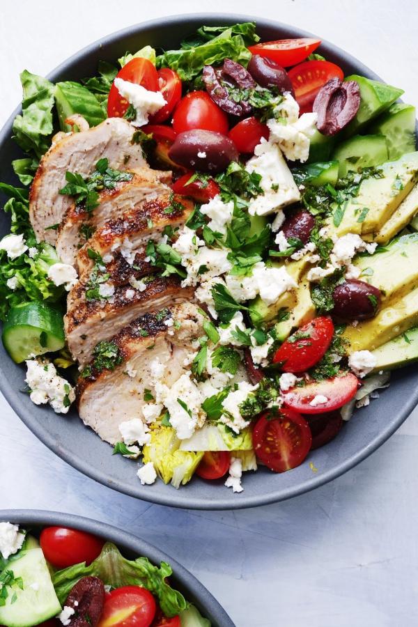 salade d' hiver salade méditerranéenne