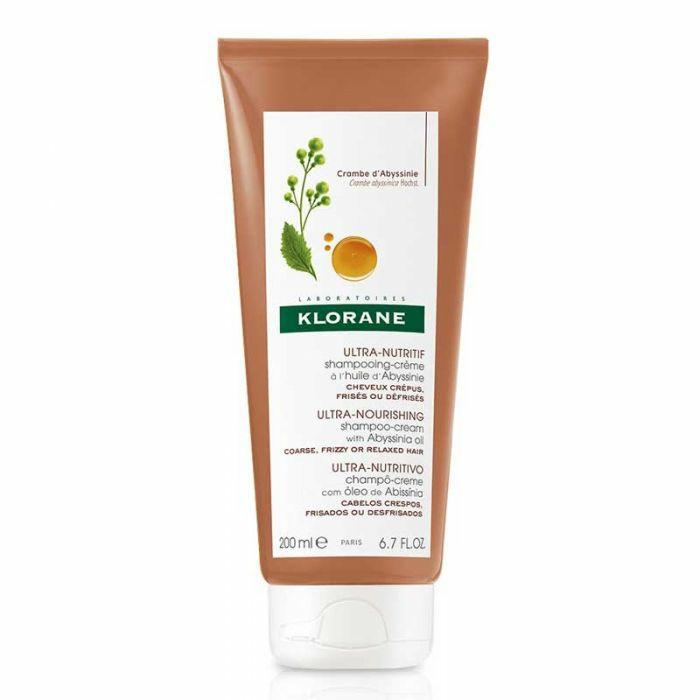 shampooing-crème à base de huile d' Abyssinie
