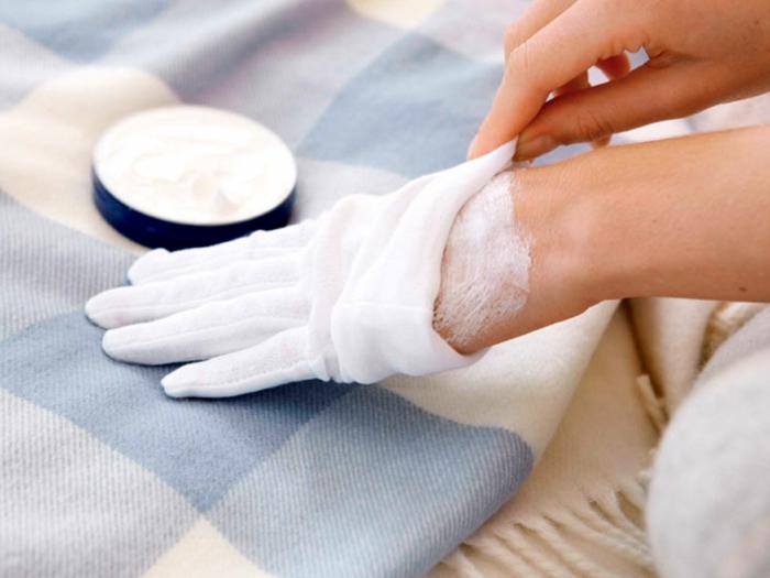 soin pour les mains en hiver crème hydratante maison