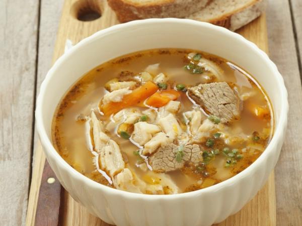 soupe aux tripes à la polonaise