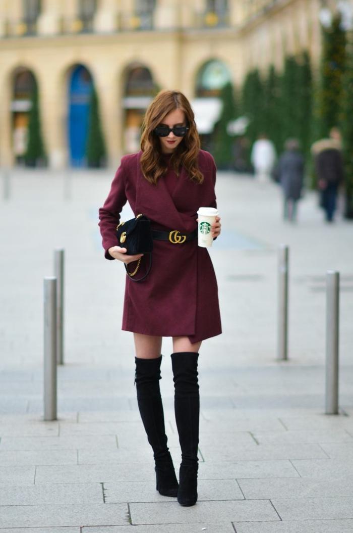 tenue élégante comment porter des cuissardes