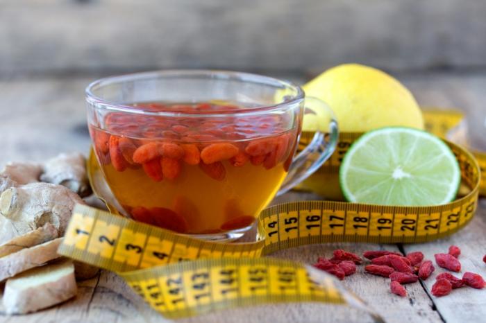 thé à la baie de goji