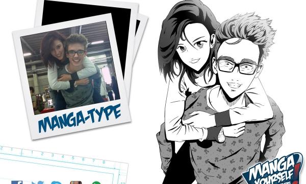 transformer photo en dessin animé manga yourself