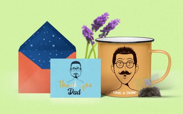 transformer photo en dessin animé pour cadeau