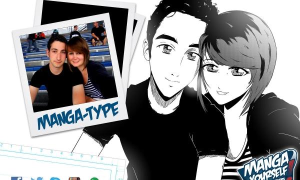 transformer photo en dessin animé type manga