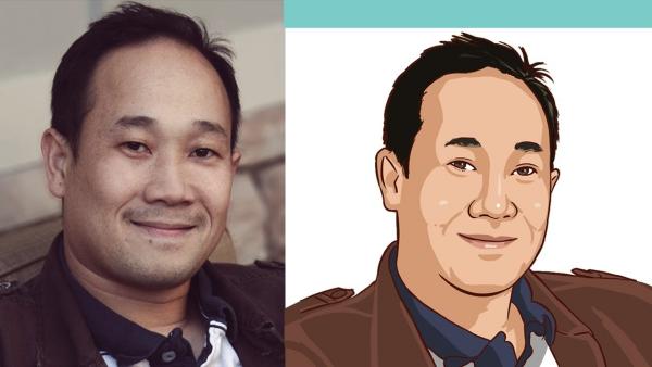 transformer photo en dessin animé version masculine